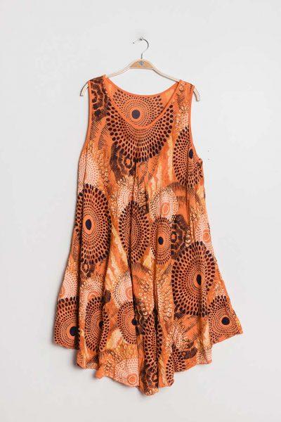 FOREST Dream Dress -mekko, tummanharmaa-vaaleanpunainen