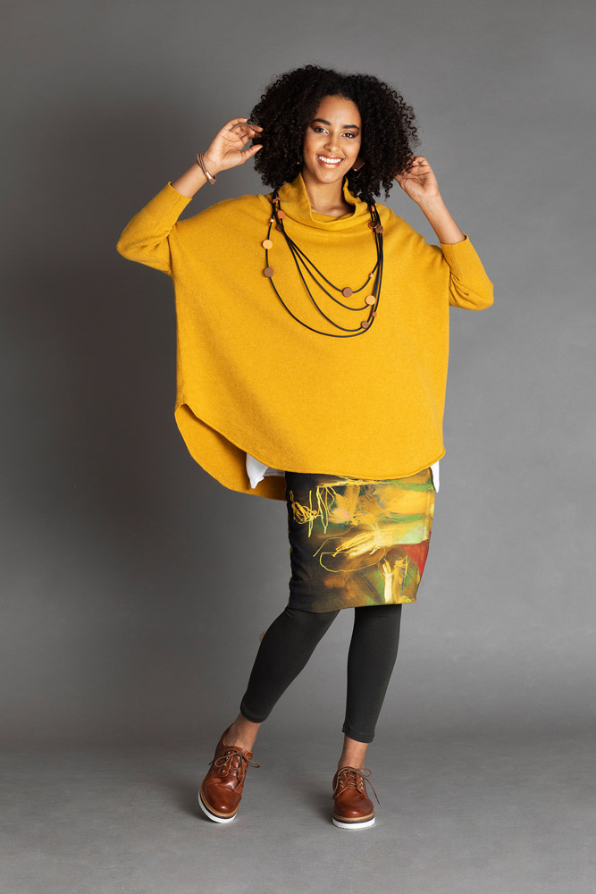 neulepaita-keltainen